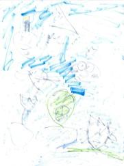 "Drawing of ""Off Piggy Island"""