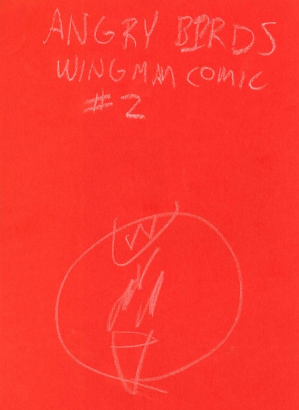 cover drawing for wing man 2